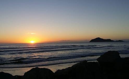 waimaz sunset