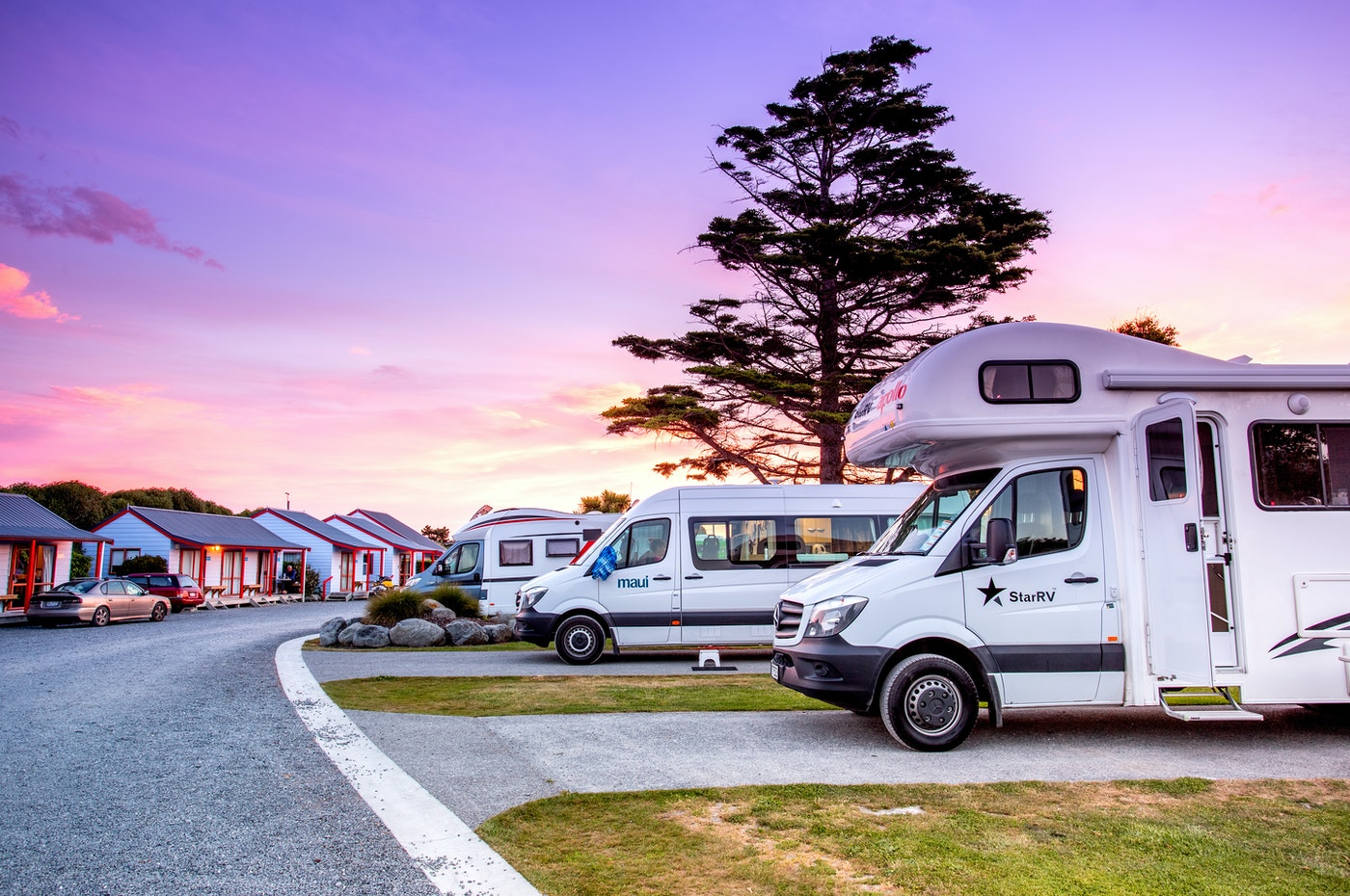 kaikoura holiday park accommodation caravans