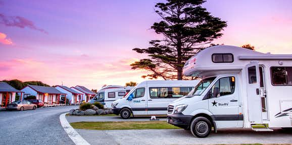 kaikoura holiday park accommodation caravans