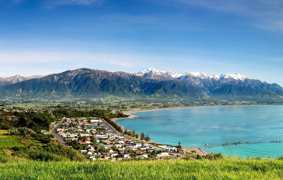 kaikoura holiday park surrounds