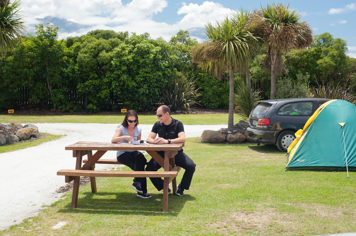 kaikoura holiday park accommodation sites